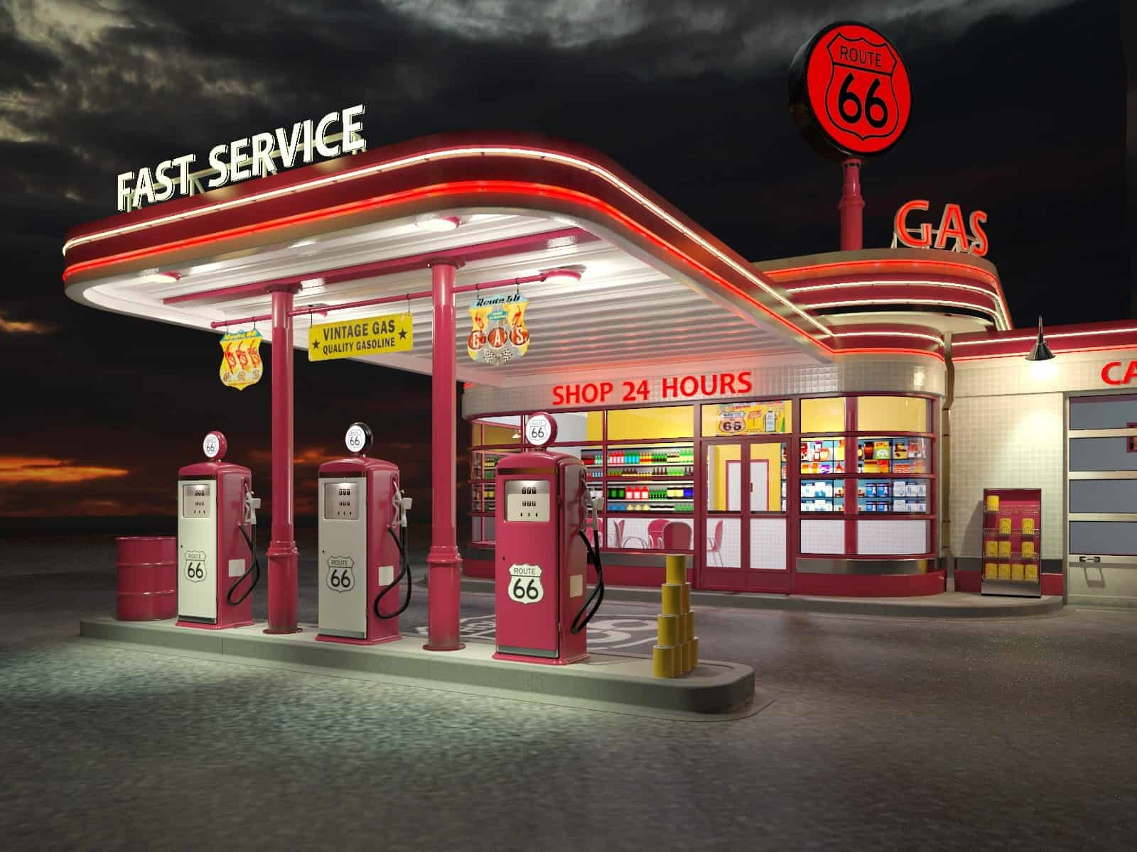 Petrol Station for sale with C-Store Major Brand – East Rand