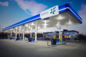 sasol petrol station
