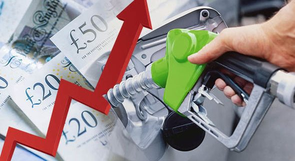 petrol diesel fuel price increase