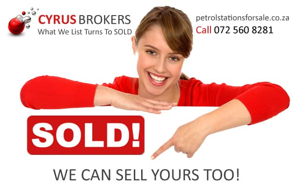 Sold by Cyrus Business Brokers GP215