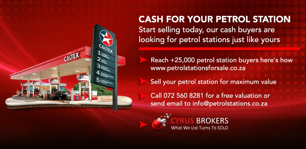 Petrol Stations WANTED – All Provinces