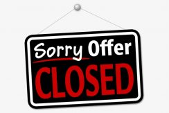 offer closed